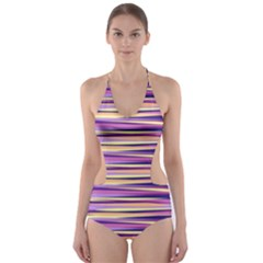 Abstract1 Cut-Out One Piece Swimsuit by olgart