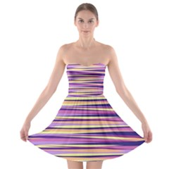 Abstract1 Strapless Bra Top Dress by olgart