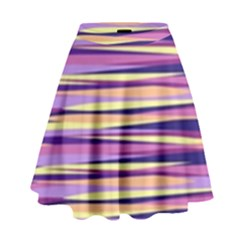Abstract1 High Waist Skirt by olgart
