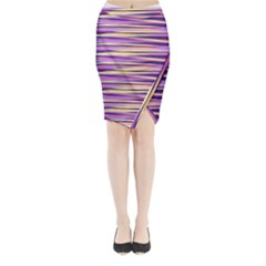 Abstract1 Midi Wrap Pencil Skirt by olgart