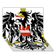 Coat Of Arms Of Austria You Are Invited 3d Greeting Card (7x5)