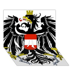 Coat Of Arms Of Austria Clover 3d Greeting Card (7x5)