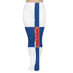 State Flag Of Finland  Women s Tights by abbeyz71