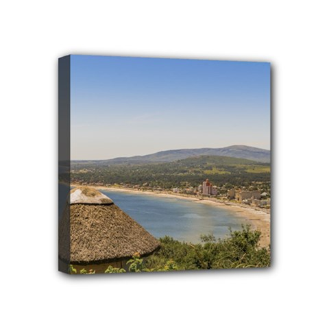 Landscape Aerial View Piriapolis Uruguay Mini Canvas 4  X 4  by dflcprints