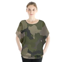 Huntress Camouflage Blouse
