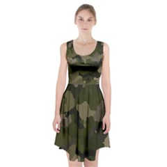 Huntress Camouflage Racerback Midi Dress