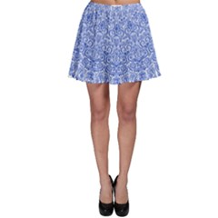 Blue And White Skater Skirt by olgart