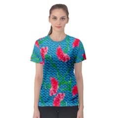 Carnations Women s Sport Mesh Tee by DanaeStudio