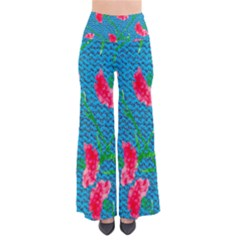 Carnations Women s Chic Palazzo Pants