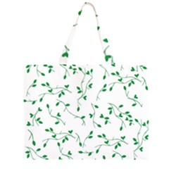 Nature pattern Zipper Large Tote Bag by gumacreative