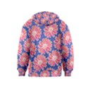 Pink Daisy Pattern Kids  Pullover Hoodie View2