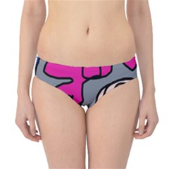 Colorful Abstract Design By Moma Hipster Bikini Bottoms by Valentinaart