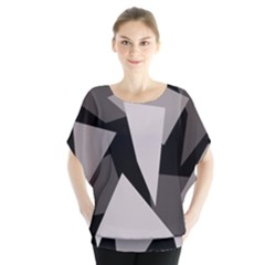 Simple gray abstraction Blouse by Valentinaart