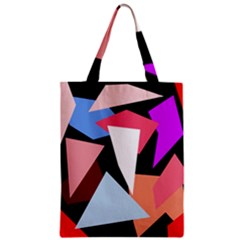 Colorful Geometrical Design Zipper Classic Tote Bag by Valentinaart