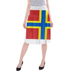 Flag Of Orkney Midi Beach Skirt by abbeyz71