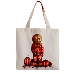 Trick R Treat Sam Zipper Grocery Tote Bag