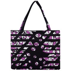 Magenta Freedom Mini Tote Bag by Valentinaart