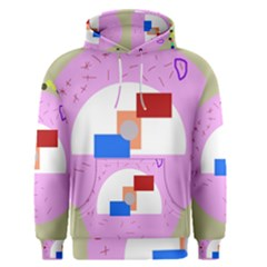 Decorative Abstract Circle Men s Pullover Hoodie by Valentinaart