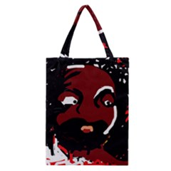 Abstract Face  Classic Tote Bag by Valentinaart