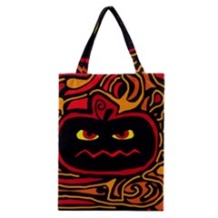 Halloween Decorative Pumpkin Classic Tote Bag by Valentinaart