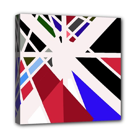 Decorative Flag Design Mini Canvas 8  X 8  by Valentinaart