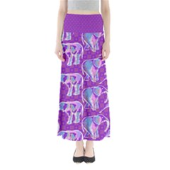 Simple Pattern Women s Maxi Skirt