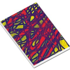 Abstract High Art Large Memo Pads by Valentinaart