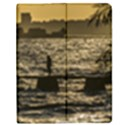 River Plater River Scene At Montevideo Apple iPad 3/4 Flip Case View1