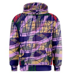 Abstract High Art By Moma Men s Zipper Hoodie by Valentinaart