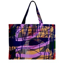 Abstract High Art By Moma Zipper Mini Tote Bag by Valentinaart