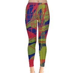 High Art By Moma Leggings  by Valentinaart