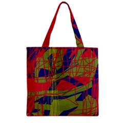 High Art By Moma Zipper Grocery Tote Bag by Valentinaart