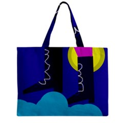 Walking On The Clouds  Mini Tote Bag by Valentinaart