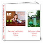 alphabet and colour photos - 8x8 Photo Book (30 pages)