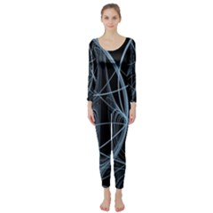 Geometric Space Long Sleeve Catsuit by designsbyamerianna