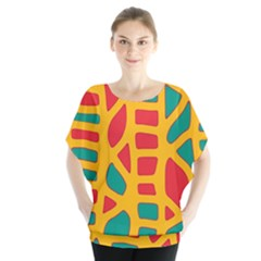 Abstract Decor Blouse by Valentinaart