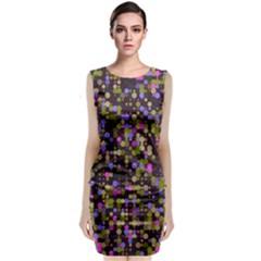 Dots                                                Classic Sleeveless Midi Dress by LalyLauraFLM