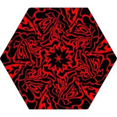 Red And Black Decor Mini Folding Umbrellas by Valentinaart