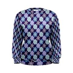 Snowflakes Pattern Women s Sweatshirt