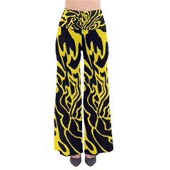 Black And Yellow Pants by Valentinaart