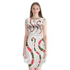 Snakes family Sleeveless Chiffon Dress   by Valentinaart