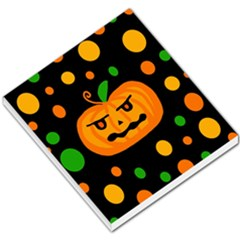 Halloween pumpkin Small Memo Pads by Valentinaart