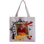 halloween - Zipper Grocery Tote Bag