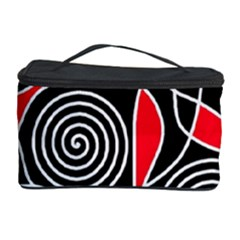 Hypnotic Design Cosmetic Storage Case by Valentinaart