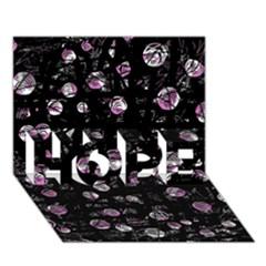 Purple Soul Hope 3d Greeting Card (7x5) by Valentinaart