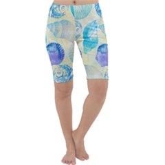 Seashells Cropped Leggings