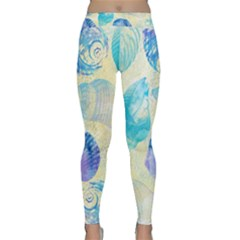 Seashells Yoga Leggings