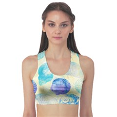 Seashells Sports Bra