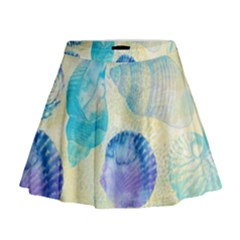 Seashells Mini Flare Skirt