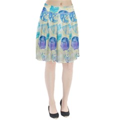 Seashells Pleated Skirt